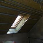Sadrokartón v podkroví