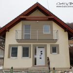 vizualizácia fasády domu
