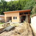 sjovpomocná stavba garáže