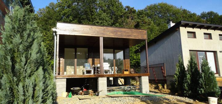 výstavba chaty