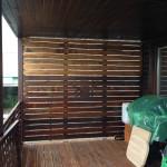 drevená zástena