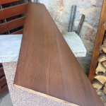 drevené schody postup