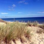 dunové pláže dánsko