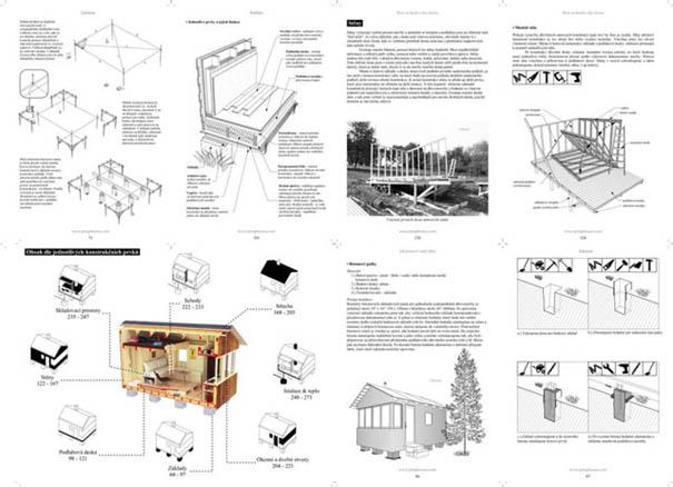 ukazka jak postavit malý dům